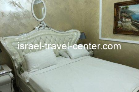 סוויטה מפוארת בסגנון מרוקאי בחיפה